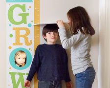 Personalized Growth Chart Decals