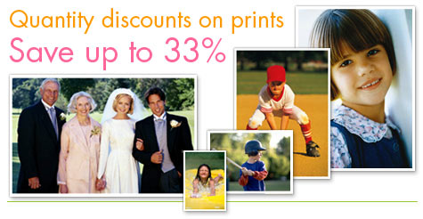 Quantity discounts on prints. Save up to 40%